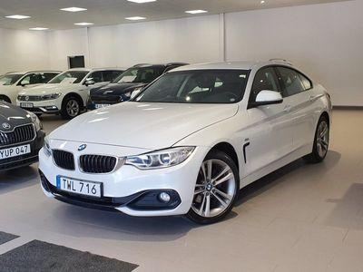 begagnad BMW 420 Gran Coupé d xDrive Sport line 190HK Aut Drag
