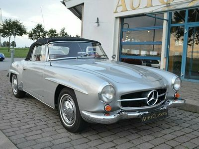 begagnad Mercedes 190 SL * SVENSKSÅLD *