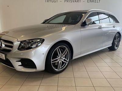 begagnad Mercedes 220 E-Klassd AMG, Premiumpaket, 360-Kamera, Minnespaket,