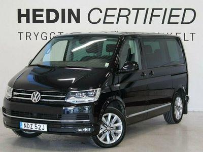 begagnad VW Multivan TDI150hk 4M Aut Highline Värmare Drag Pluspaket