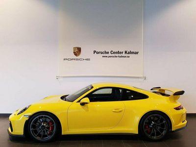begagnad Porsche 911 GT3 911Sport Chrono Manuell 500hk 1 Ägare