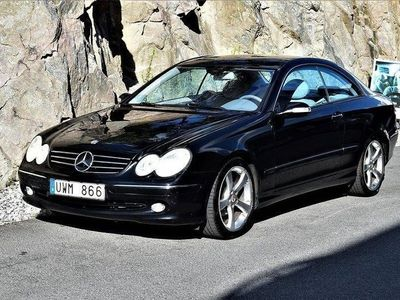 begagnad Mercedes CLK200 Kompressor Coupé Automa