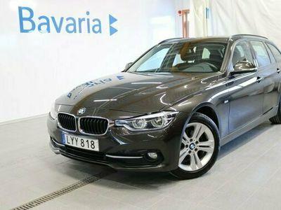 begagnad BMW 318 d Touring Steptronic Sport line Drag Automat 150hk