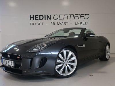 begagnad Jaguar F-Type S Convertible |Fullservad original|