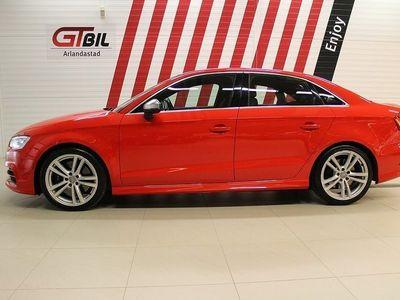begagnad Audi S3 SED 2.0TFSI 300HK Q S-Tronic