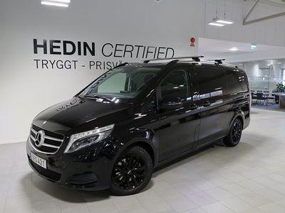 begagnad Mercedes V220 V Benz7-sits Automat 2017, Personbil 349 900 kr