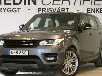 usata Land Rover Range Rover Sport SDV6 HSE Dynamic 2016, SUV 579 000 kr