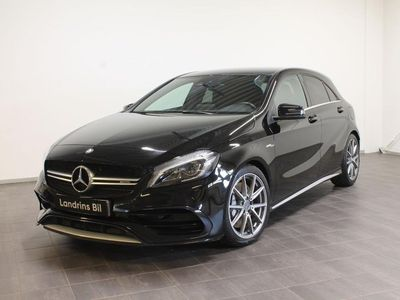 begagnad Mercedes A45 AMG 4-Matic 381Hk Facelift