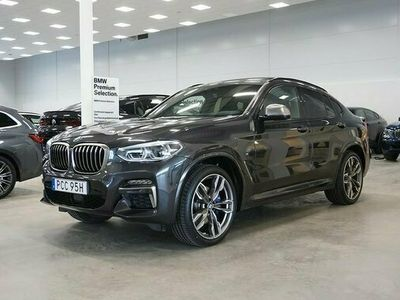 begagnad BMW X4 M40i Innovation Winter Connected Drag M-Stolar DA 2020, SUV Pris 699 800 kr