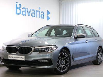 begagnad BMW 520 d xDrive Sport Line Connected, Nav Drag Nypris 543 100 Kr