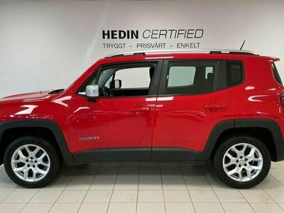 begagnad Jeep Renegade 2.0 MultiJet 4WD Limited 2015, SUV Pris 129 900 kr