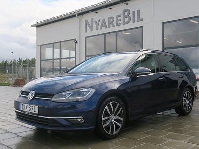 begagnad VW Golf 1,5 TSI 150hk Pluspaket Sports Kombi Bensinvärmare