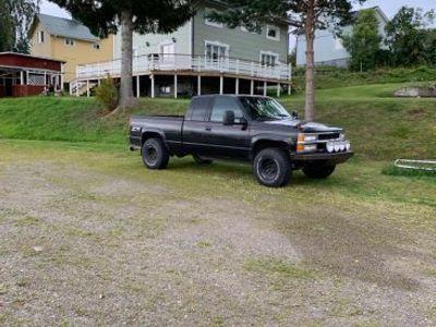 begagnad Chevrolet Silverado