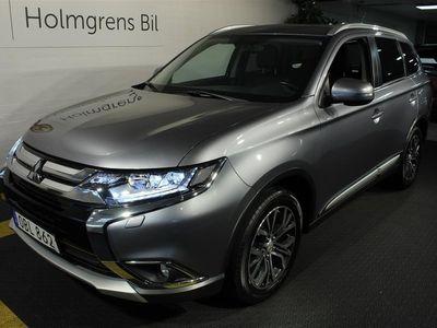 begagnad Mitsubishi Outlander 2.2D Business Aut