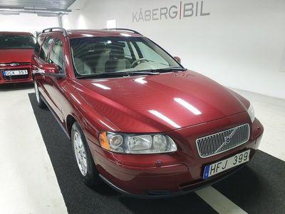 begagnad Volvo V70 2.4D 163hk / Välservad / Fint skick