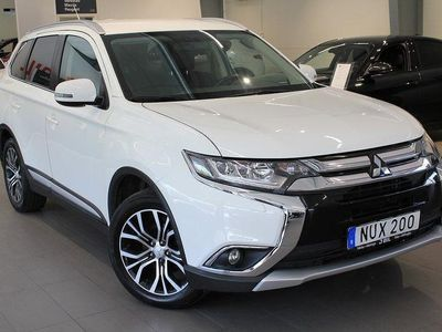 begagnad Mitsubishi Outlander Business 2,2D 150hk Automat 4WD MY16