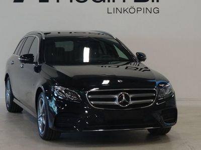 begagnad Mercedes E300 AMG Panorama Minnespaket Burmester Adaptiv farthållare DEMO
