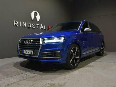 """begagnad Audi SQ7 V8 TDI 435 HK Q DRAG D-VÄRM SE UTR 21"""""""