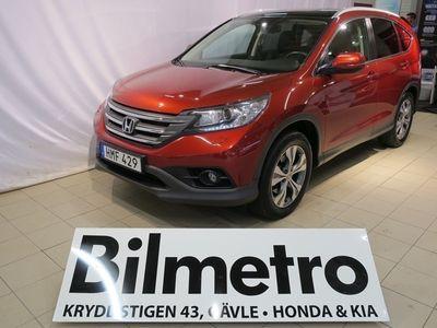 gebraucht Honda CR-V 2.2D AUT 4WD Executive ink. GPS Dragkrok & V-hjul