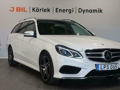 begagnad Mercedes 350 E-KlassAMG-Sport 4Matic 258hk Aut - Panorama, Drag, DVD Skärmar
