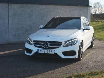 begagnad Mercedes C220 CDI AMG Navi Drag