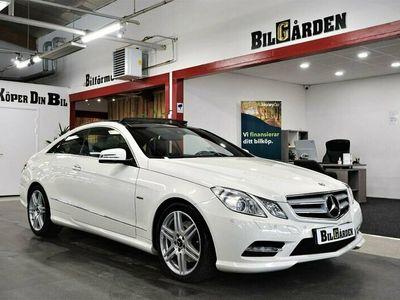 begagnad Mercedes E250 Coupé BlueEFFICIENCY 7G-Tronic Plus AMG Sport 204hk