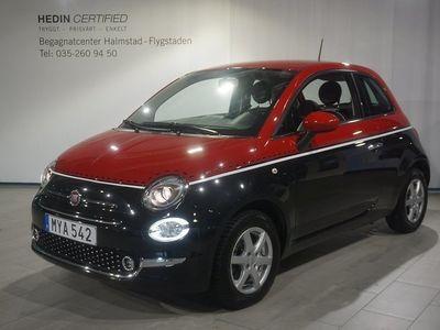 begagnad Fiat 500 1.2 Lounge Euro 6 69hk *Vinterhjul, -16