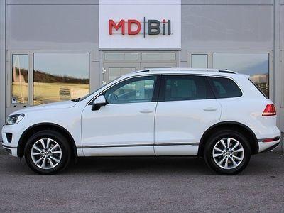 begagnad VW Touareg 3.0 TDI 4M Navi Drag Värmare Läder Moms