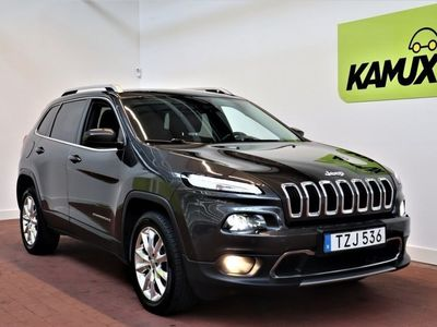 begagnad Jeep Cherokee 2.0 CRD 4WD Limited (170hk)