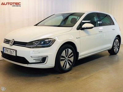 begagnad VW e-Golf 35.8 kWh Single Speed Driver assist 136