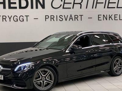 begagnad Mercedes C200 184Hk 9G-Tronic AMG Widescreen