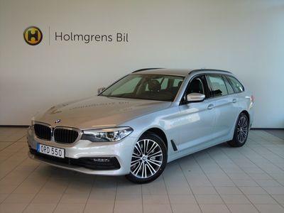 begagnad BMW 530 i xDrive Touring Sport Line, Navigation, HiFi