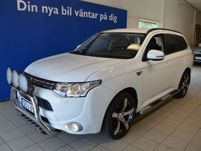 usata Mitsubishi Outlander P-HEV Plugin/Hybrid/Moms bil