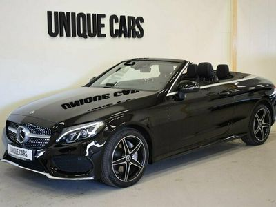 begagnad Mercedes C200 Cab AMG 4-Matic Navi Burmester Distronic