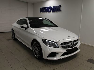 begagnad Mercedes C220 d Coupe AMG Aut Panorama