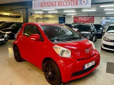 begagnad Toyota iQ 1.0 VVT-i Nybes 2010, Personbil 34 900 kr