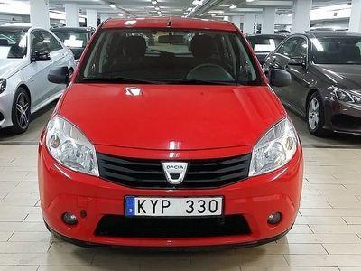 begagnad Dacia Sandero 1.6 E85 87hk NY SERVAD