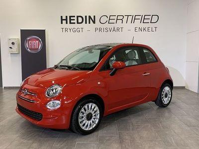 begagnad Fiat 500 LOUNGE HYBRID 1.0 70HK