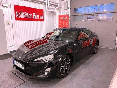 begagnad Toyota GT86 2.0 Automat 2012, Sportkupé 189 900 kr