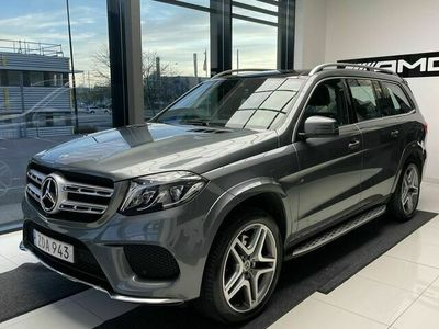 begagnad Mercedes GLS350 - BenzD 4MATIC AMG LINE / PANORAMA / VÄRMARE / 7 - SITS