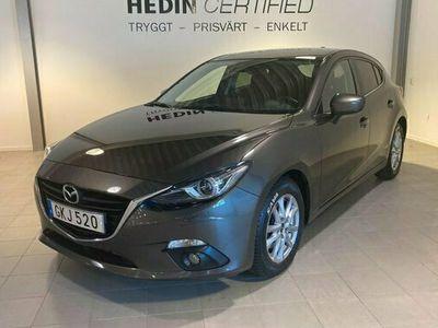 begagnad Mazda 3 32,2 SKYACTIV-D Vision Sport Navi Bluetooth Sensorer 2014, Halvkombi Pris 119 900 kr