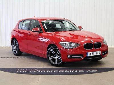 begagnad BMW 116 d Sport line 116hk