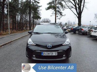 begagnad Toyota Prius+ Hybrid 1.8 Skinn Euro 6 7-sits