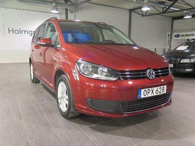 begagnad VW Touran 1.6 TDI BlueMotion Technology Masters (105hk) 7-Sits