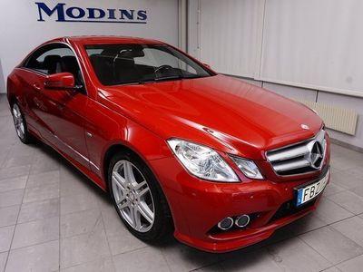 begagnad Mercedes E220 CDI 170Hk Aut Coupe AMG Sportkupé