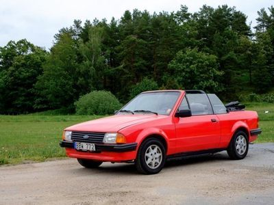 brugt Ford Escort Cabriolet 1.6 -85