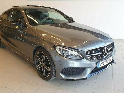 begagnad Mercedes C200 Coupé * AMG SPORT * PANORAMA * 1-ÄGARE