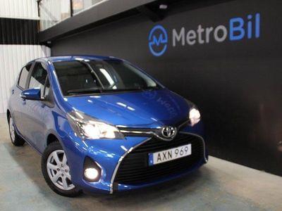 brugt Toyota Yaris 5-dörrar 1.33 VVT-i Multidrive S Euro 6/Aut/Drag