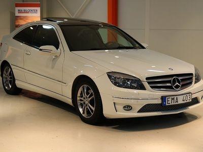 begagnad Mercedes CLC180 Kompressor 143hk En ägare panorama tak