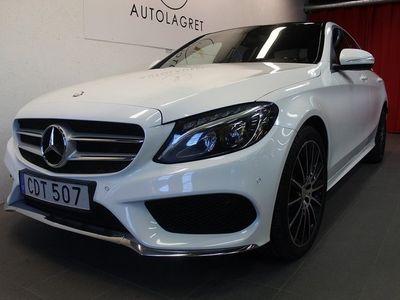 begagnad Mercedes C250 4MATIC AMG-PAKET PANORAMA SV-SÅLD 204hk